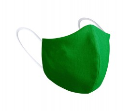 mascarilla higienica reutilizable modelo A2577 de color verde