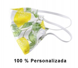 Mascarilla higiénica 100%...