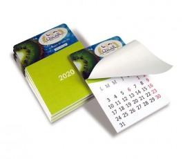 Calendario 12 hojas en base imantada personalizada a todo color