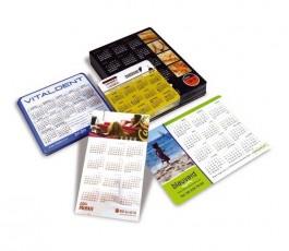 Varios calendarios magneticos personalizados