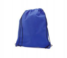 mochila de saco de non woven modelo A4049 de color azul