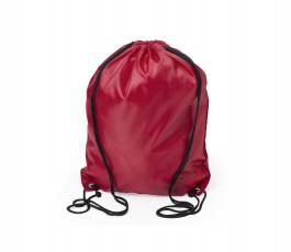 mochila de cuerdas infantil modelo A5091 color rojo
