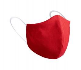 mascarilla personalizada infantil color rojo