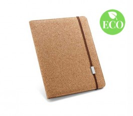 carpeta portafolios ecologica de corcho con sello ECO