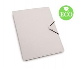 carpeta de carton reciclado con bloc de hojas modelo A3639R y con sello ECO