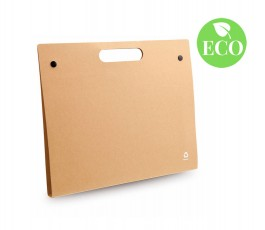 carpeta de carton reciclado con bloc modelo A3640R y sello ECO