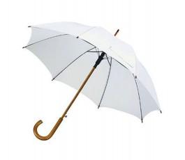 paraguas modelo ZU010313 color blanco abierto