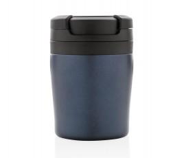 vista lateral de la taza CoffeeToGo color azul
