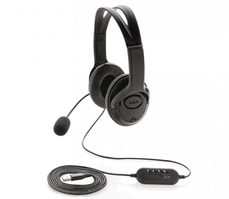auriculares para videollamada para personalizar en fondo blanco modelo K329151
