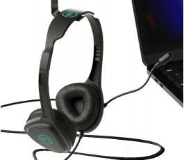 auriculares para videollamada Talky personalizados colgados de un gancho