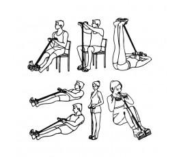ejercicios para realizar en casa con la cuerda de tension modelo C6198