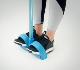 detalle de la cuerda de tension para hacer ejercicio en casa