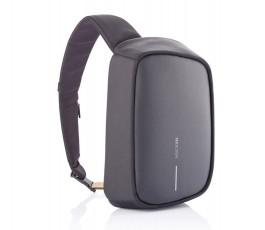 mochila publicitaria antirrobo y proteccion RFID color negro