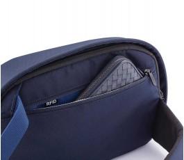 bolsillo interior de la mochila publicitaria antirrobo y proteccion RFID