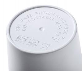 base de la taza personalizada de PLA con tapa