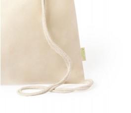 detalle de la mochila de algodon organico modelo A6390