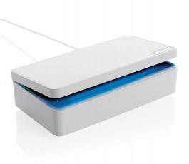esterilizador UV-C con la caja media abierta