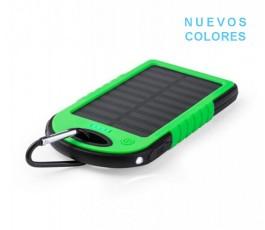 power bank solar de 4000 mAh modelo A4939 color verde