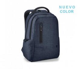 """mochila para ordenador de 17"""" color azul sello NUEVO COLOR"""