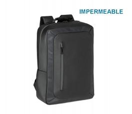 mochila para ordenador impermeable modelo ZS92637 con sello IMPERMEABLE