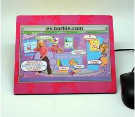 alfombrilla ecologica personalizada para la empresa Mattel