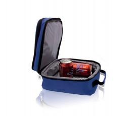 bolsa nevera modelo A3505 abierta con latas en el interior