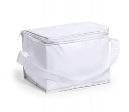 Nevera para 6 latas modelo A3072 color blanco y cinta blanca