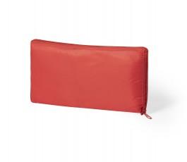 bolsa nevera plegable color rojo presentado plegada