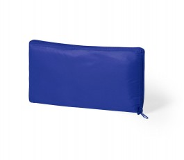 bolsa nevera plegable color azul presentado plegada