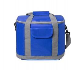 bolsa nevera para personalizar con logo modelo A6813 color azul