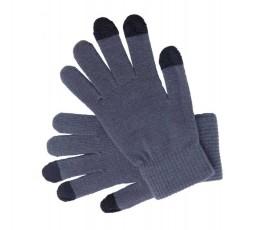 guantes para pantallas tactiles modelo A4010 color gris