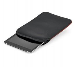"""funda de soft shell negro con tablet de 10.1"""" en el interior"""