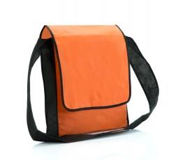 bandolera barata de non-woven color naranja