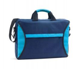 maletin portadocumentos bicolor modelo ZS92257 en colores azules