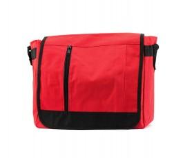 maletin portadocumentos modelo A9294 de color rojo cerrado