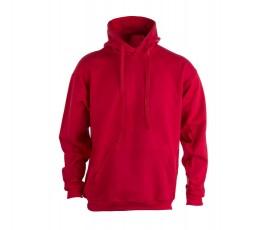 sudadera para personalizar unisex con capucha de color rojo