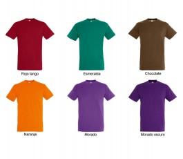 surtido de colores oscuros de camiseta hombre SOLS Regent