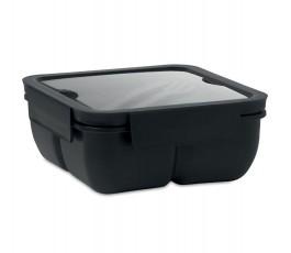 fiambrera de PP de color negro modelo C6275