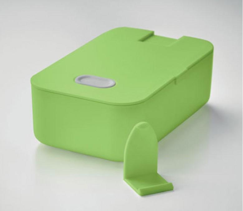 fiambrera modelo C6205 con soporte para telefono color lima
