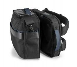 mochila y bolsa de viaje que se separan