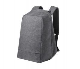 mochila antirrobo reflectante para portatil y tablet en fondo blanco