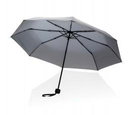 paraguas de bolsillo de RPET IMPACT de color gris abierto