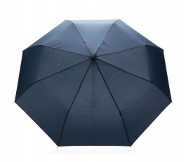 paraguas de bolsillo de RPET IMPACT de color azul marino