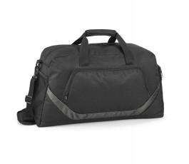 bolsa deporte modelo ZS92518 de color negro con detalle en gris