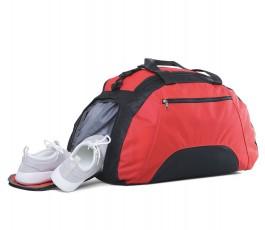 bolsa deporte porta zapatillas modelo ZS92511 color rojo