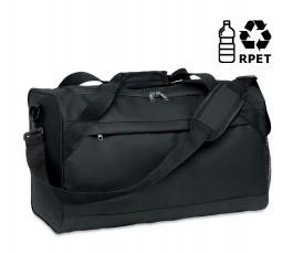 bolsa de deporte de RPET modelo C6209 color negro con sello RPET