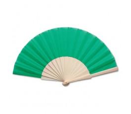 abanico varilla madera modelo A8863 color verde