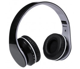 Auriculares Bluetooth plegables modelo A4938 color negro