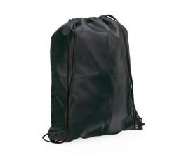 mochila con cordones modelo A3164 color negro
