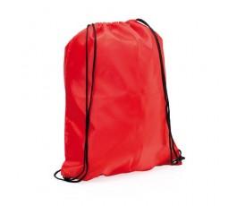 mochila con cordones modelo A3164 color rojo